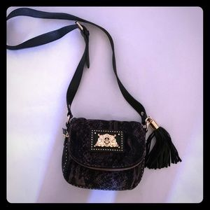 Black Juicy Couture Crossbody with Tassle
